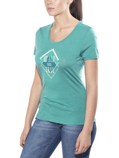 Meru Enköping T-Shirt Women Turkish Tile